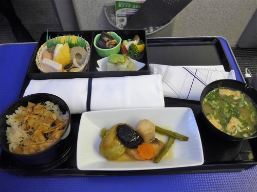ANA機内食が良かった話~栴檀、とうふ屋うかい~_f0232060_111447.jpg