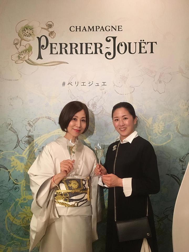 "\""Champagne Perrier-Jouët新ボトルデザイン\""ローンチパーティー 🥂_a0138976_11424642.jpg"