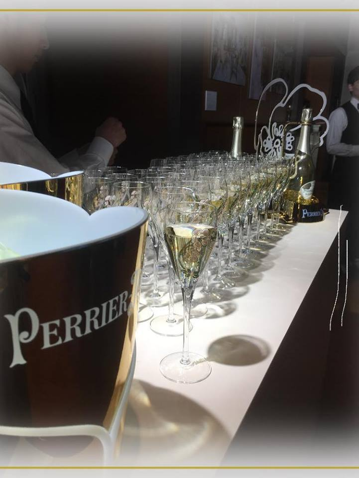 "\""Champagne Perrier-Jouët新ボトルデザイン\""ローンチパーティー 🥂_a0138976_11424757.jpg"