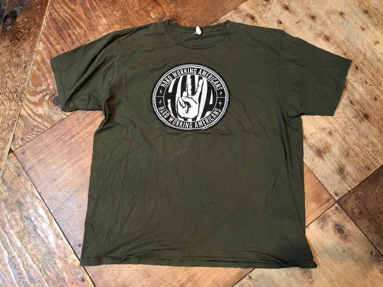 4月9日(火)入荷!HARD WARK AMERICAN Tシャツ!_c0144020_13041167.jpg