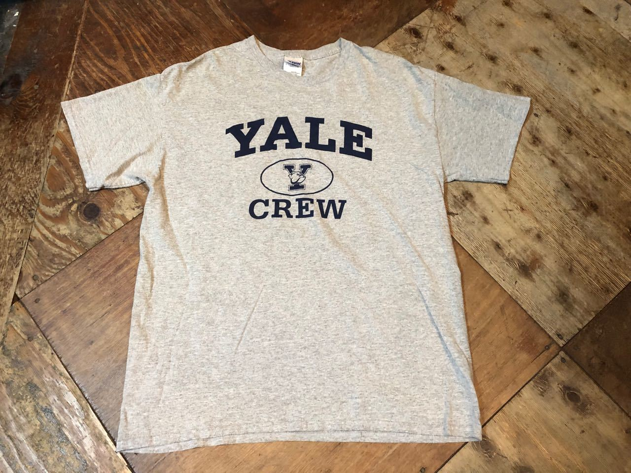 4月9日(火)入荷! YALE CREW Tシャツ!_c0144020_13113789.jpg