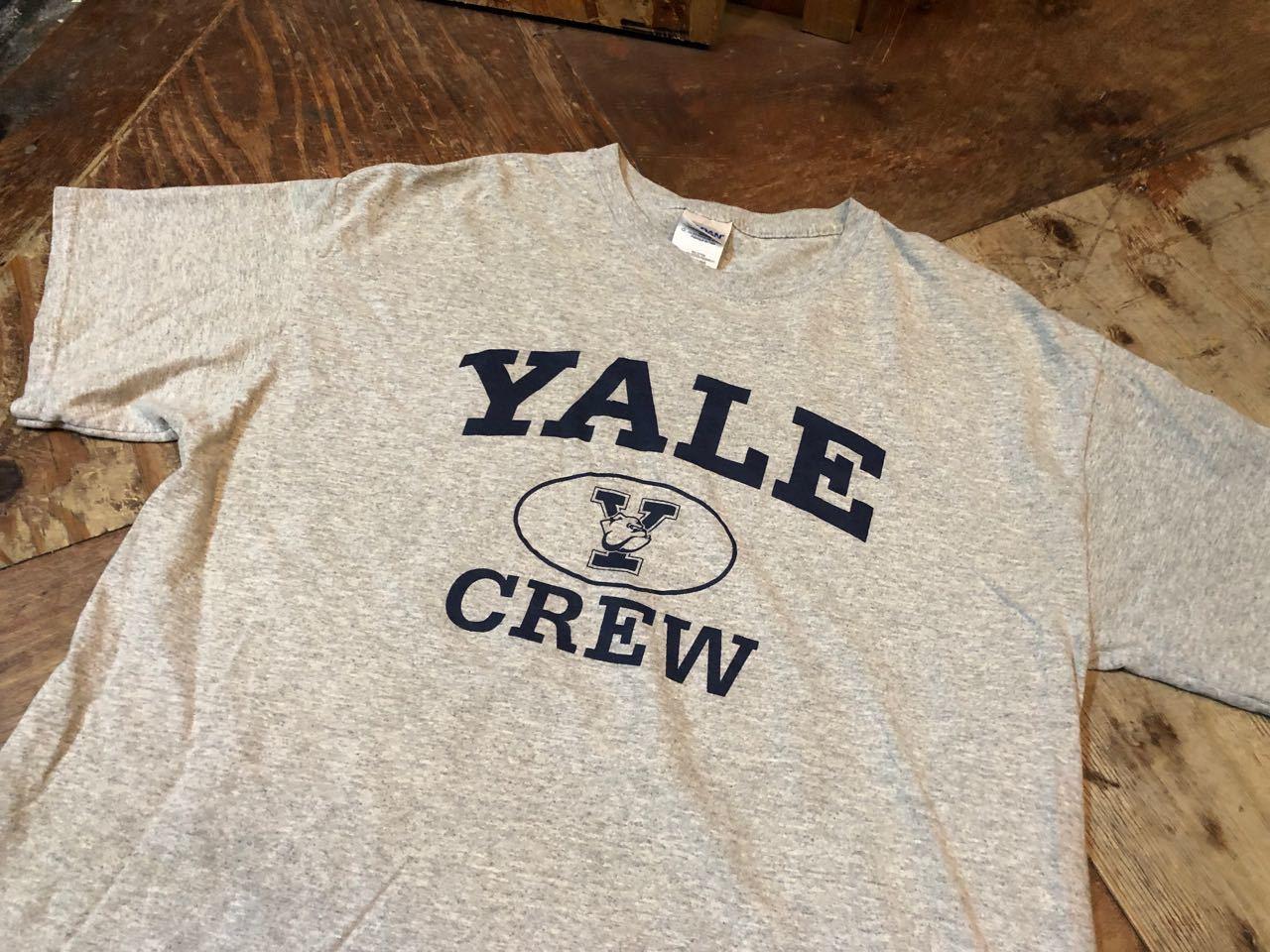 4月9日(火)入荷! YALE CREW Tシャツ!_c0144020_13113956.jpg