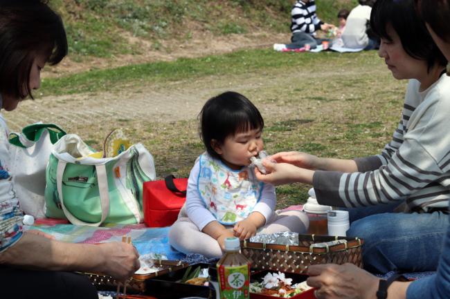 花見/お弁当/進級式/保育園/岡山_c0225122_10213437.jpg