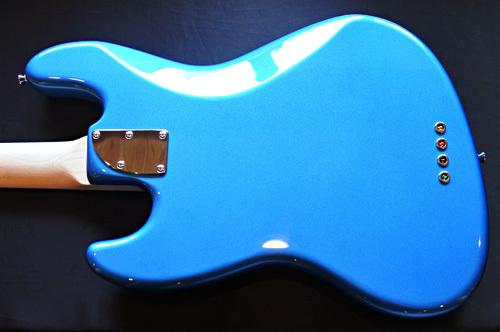「Splash Blue MetallicのStandard-J」1本目が完成です!_e0053731_16423209.jpg