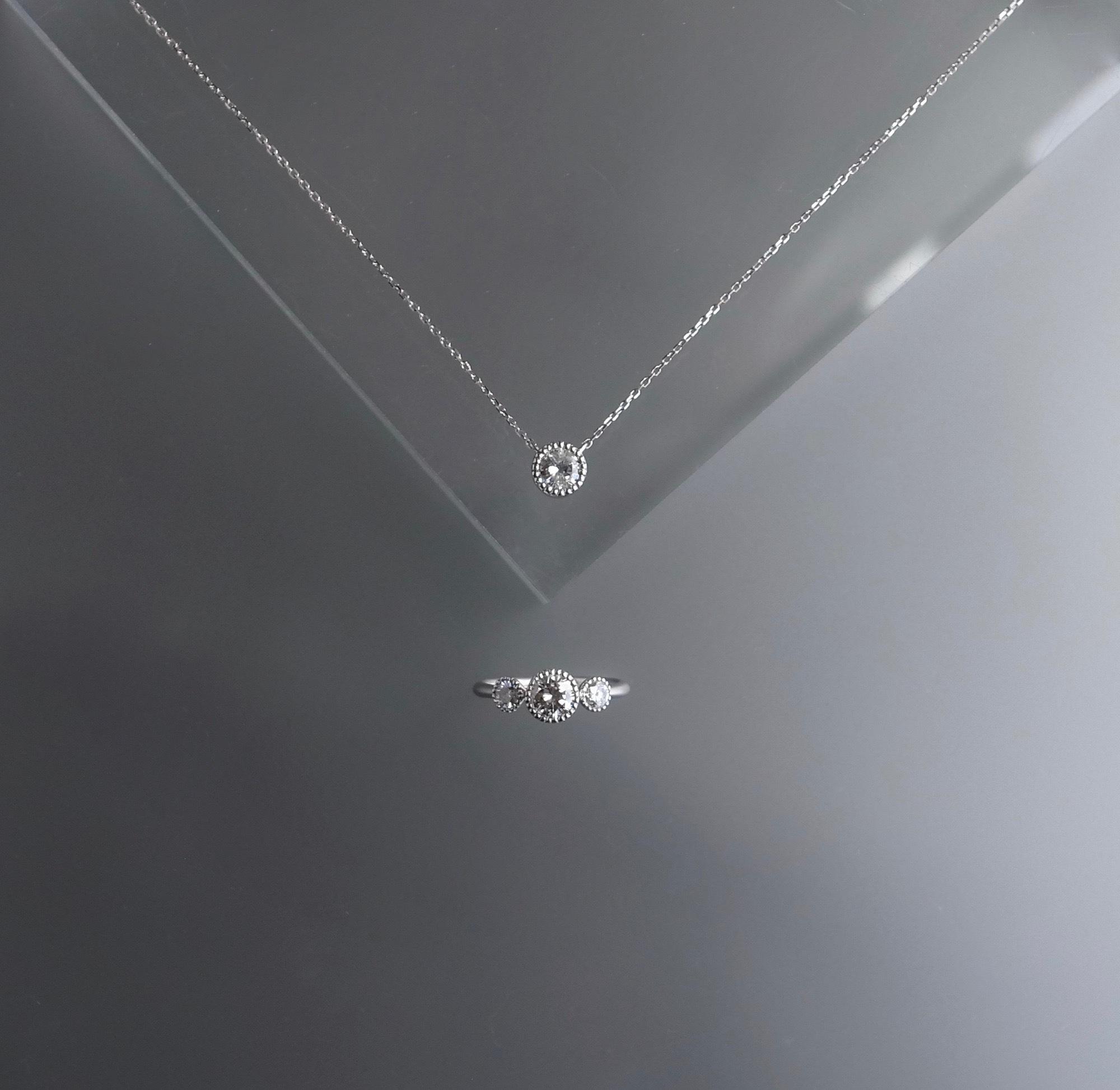 リメイク:ネックレス→ネックレスとリング&ピアス→リング_c0243355_09450389.jpg