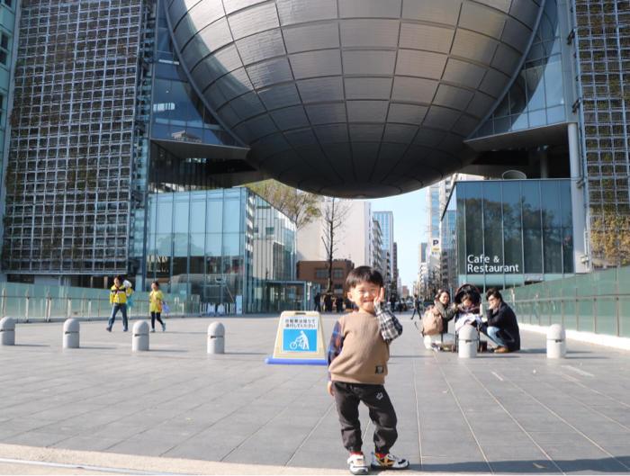 みんなで名古屋市科学館へお出かけ&お誕生日会もみんなでね_b0175688_20424523.jpg
