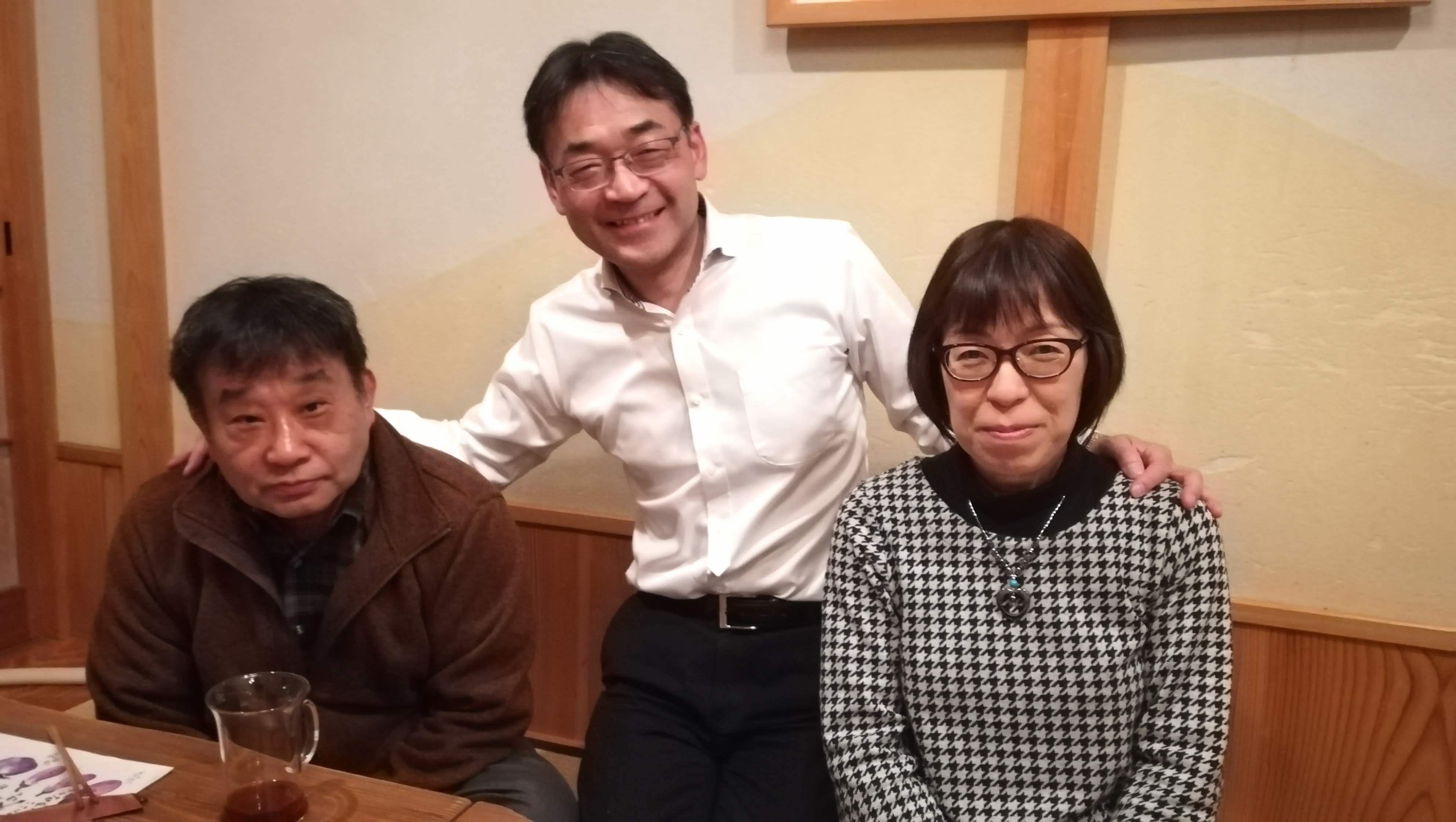 定年のお祝い&羽田さとみさんセレモニー_c0193896_14065879.jpg
