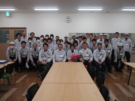 定年のお祝い&羽田さとみさんセレモニー_c0193896_14094851.jpg