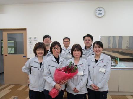 定年のお祝い&羽田さとみさんセレモニー_c0193896_14103034.jpg