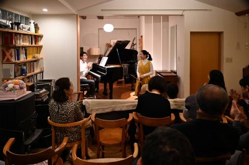 サロンコンサート  高橋 全_f0099102_18441846.jpg