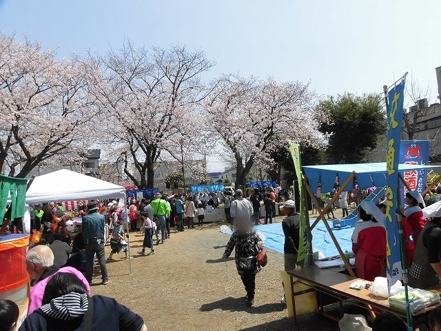 「さくら咲く」 晴天に恵まれ、さらにちょうど満開! 吉原地区さくら祭_f0141310_07402100.jpg