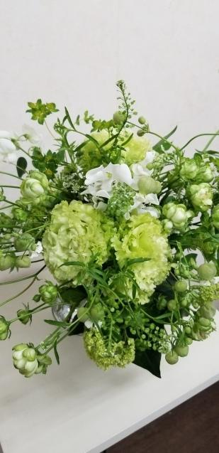 グリーンの花束_b0196913_10015234.jpg