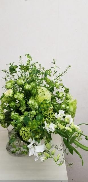 グリーンの花束_b0196913_10024772.jpg