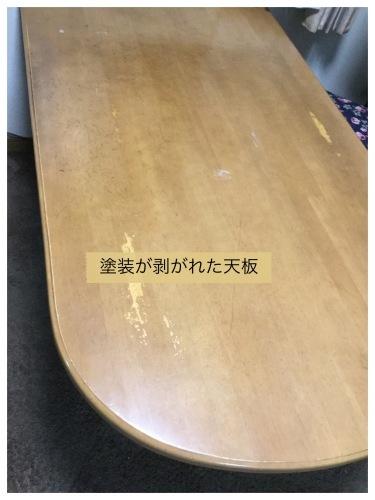 テーブルリメイク & 平成最後のお花見 & 白い紫陽花_a0084343_11253995.jpeg