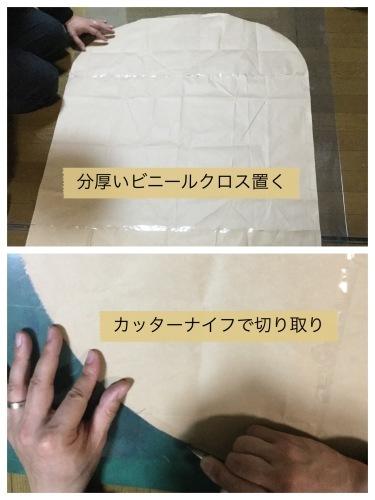 テーブルリメイク & 平成最後のお花見 & 白い紫陽花_a0084343_11260834.jpeg