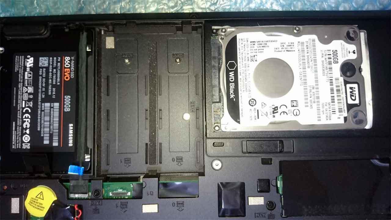 HDD交換 SSD換装 福岡