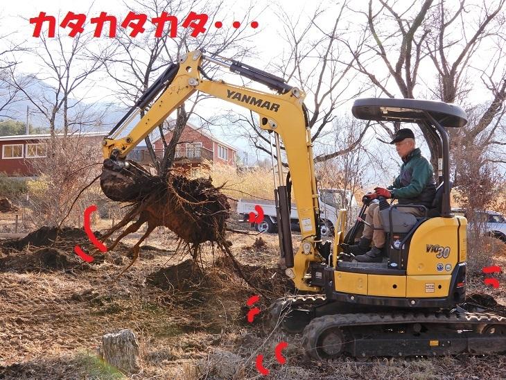 武川町F山さん邸の現場より 2_a0211886_16410584.jpg