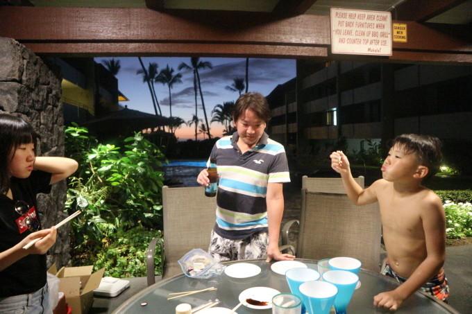 2019お正月ハワイ島!~アワビにロブスターで贅沢BBQ~_f0011498_16534442.jpg