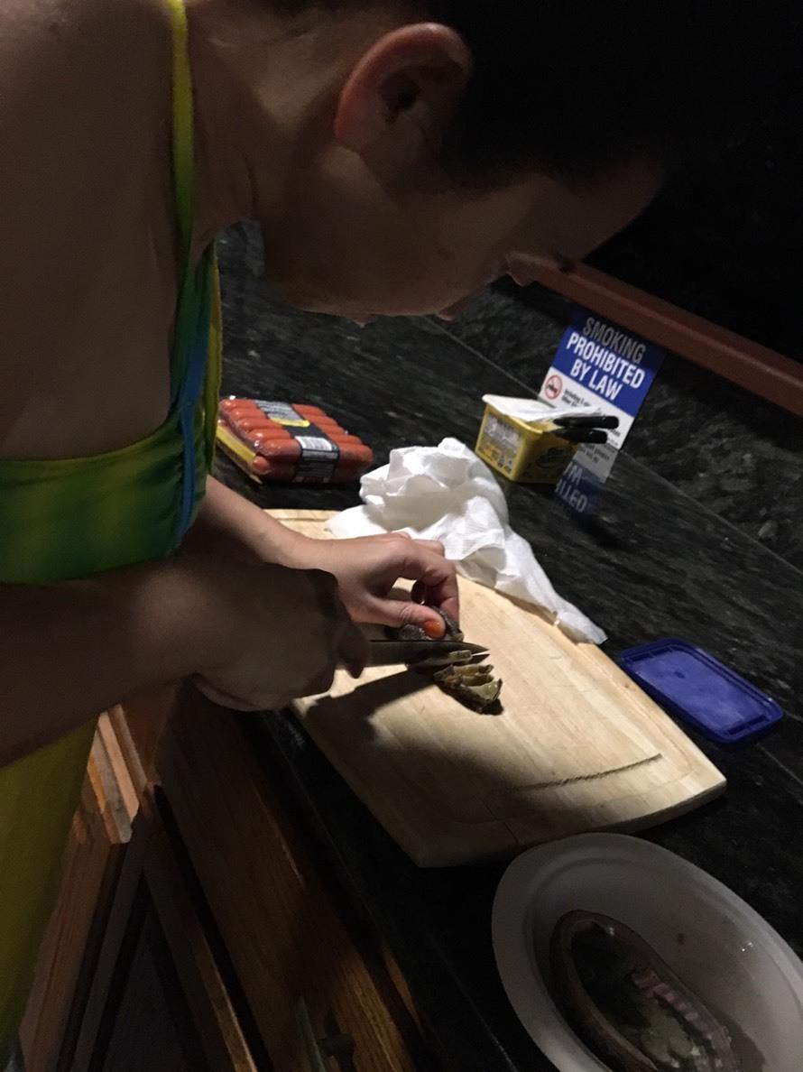 2019お正月ハワイ島!~アワビにロブスターで贅沢BBQ~_f0011498_16570097.jpg