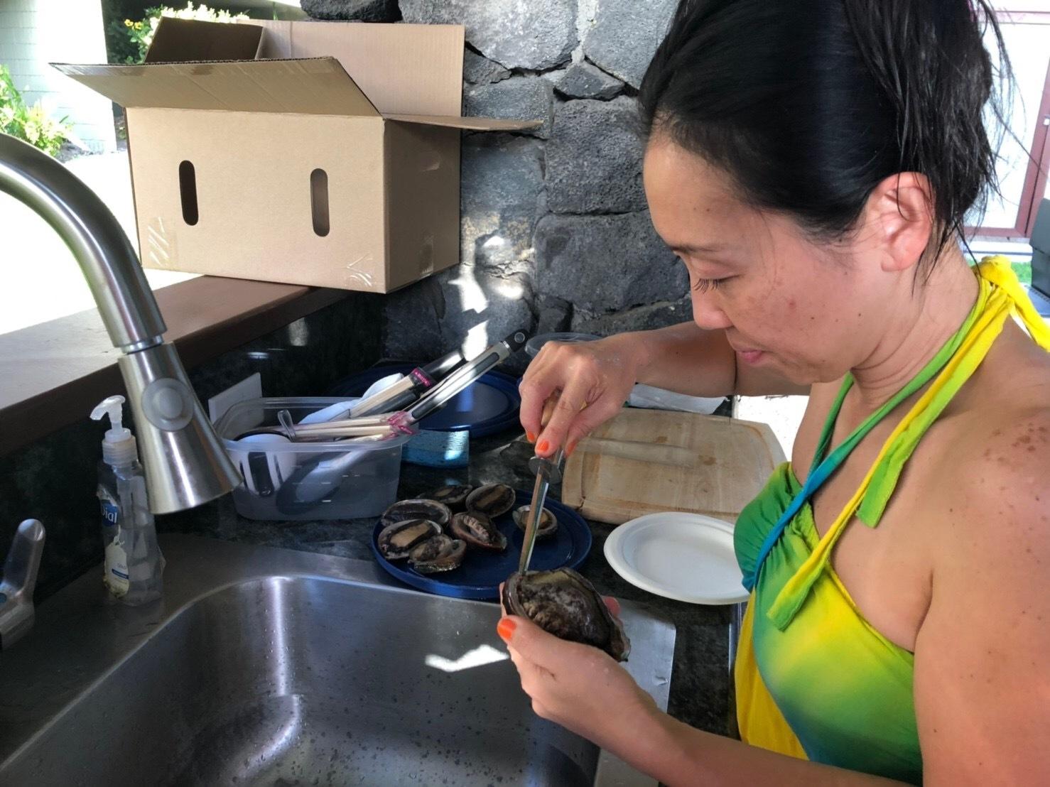 2019お正月ハワイ島!~アワビにロブスターで贅沢BBQ~_f0011498_16593221.jpg