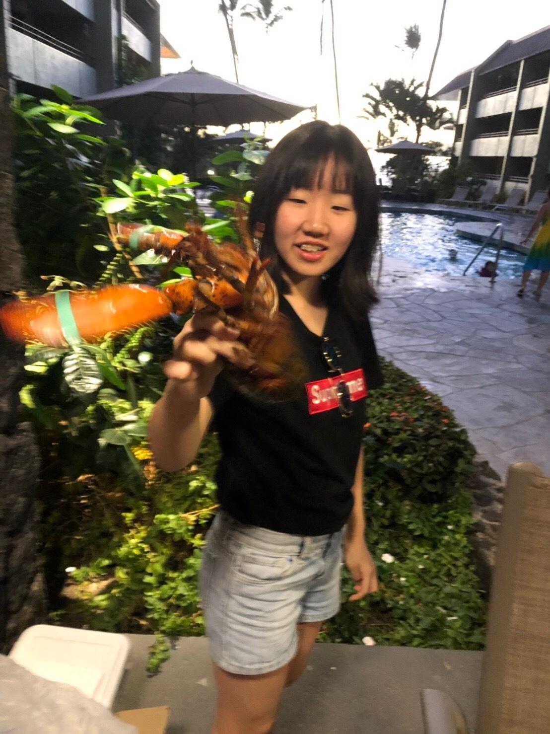 2019お正月ハワイ島!~アワビにロブスターで贅沢BBQ~_f0011498_18085827.jpg