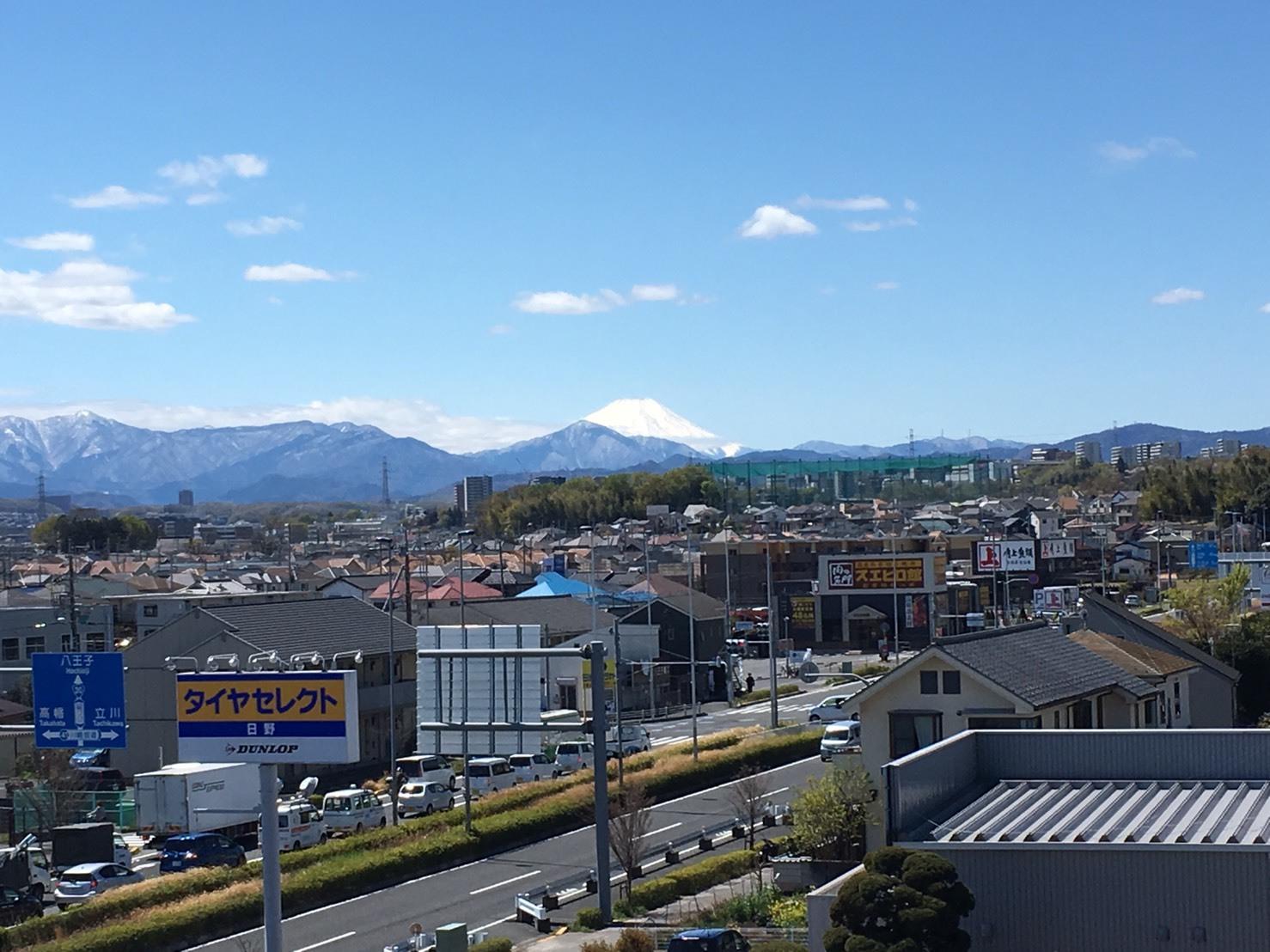 4/11  今日の富士山_b0042308_18251161.jpg