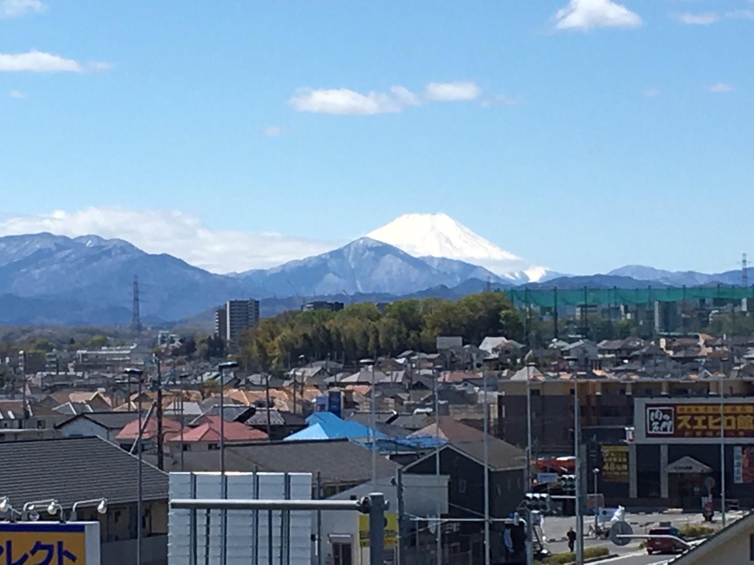 4/11  今日の富士山_b0042308_18251204.jpg