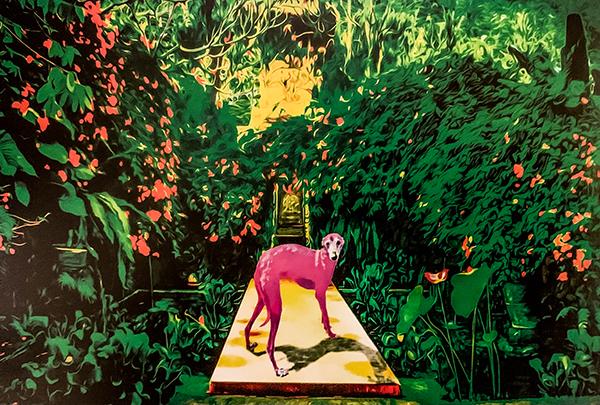 加納典明さんの個展「ピンクの犬」レセプションパーティー!_b0194208_20492925.jpg
