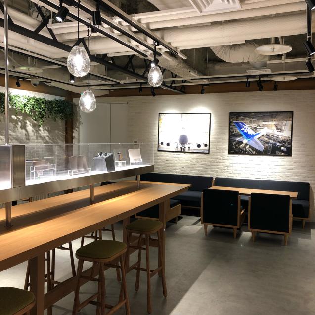 第1ターミナルなのにANAのカフェとは…_d0285416_09080230.jpg
