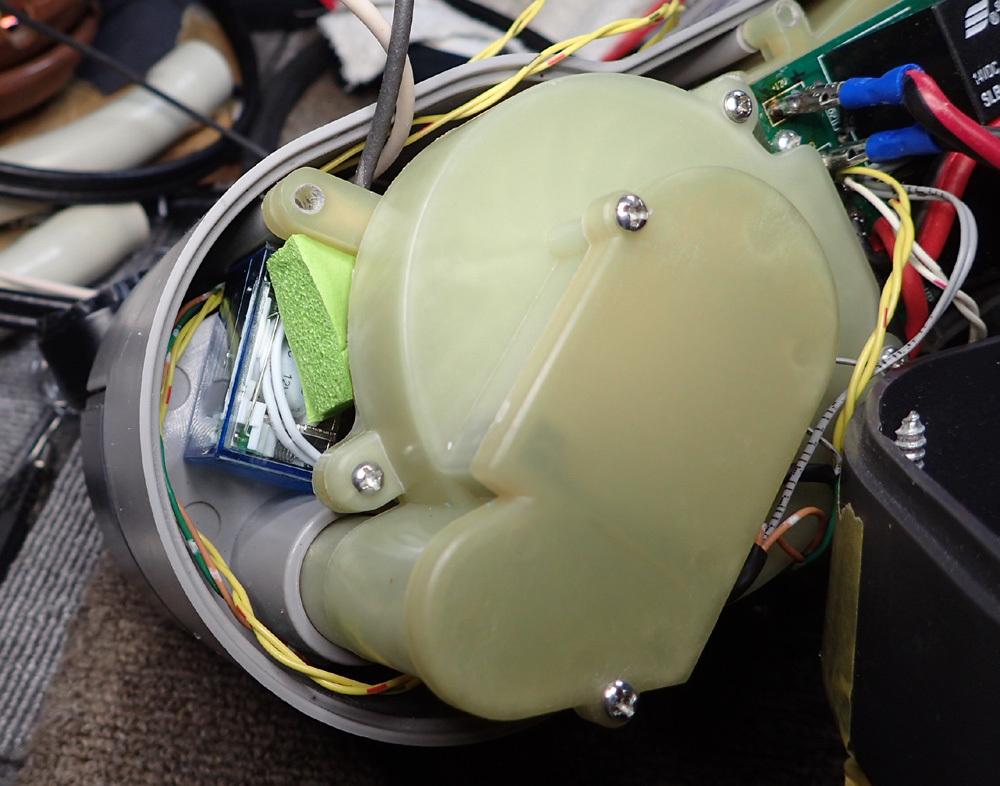高圧エアポンプ防音ケース・完成。 2019年4月11日(木)_d0171823_19434879.jpg