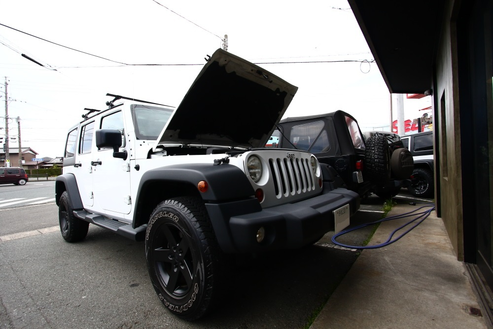 車検完了のJKUと内装清掃のTJ_f0105425_18203423.jpg