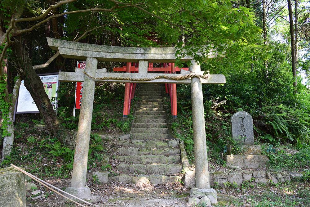 黒田官兵衛の生誕地と伝わる播磨黒田城跡を訪ねて。_e0158128_23160768.jpg