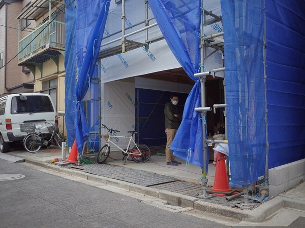 荒川の家Ⅲ 構造見学会_c0019551_08562399.jpg
