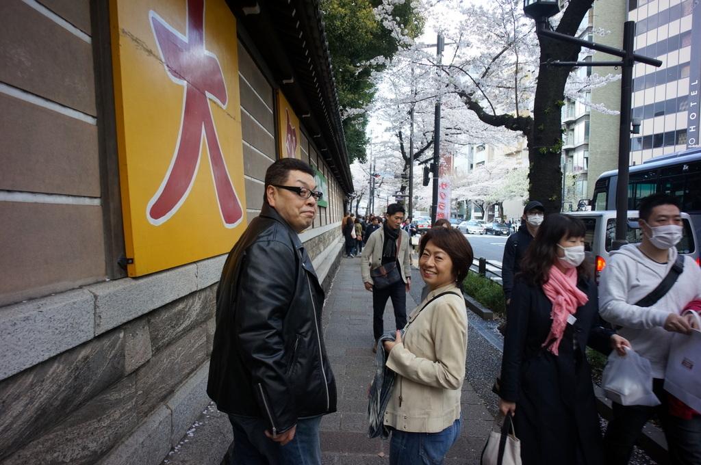 上野の櫻、さんさき坂カフェ、そして外堀土手から靖国神社_c0180686_11405614.jpg