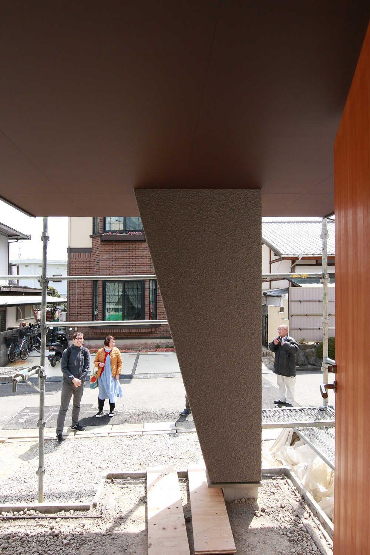 斜め壁の理由 奈良三郷町の家_b0349892_18114628.jpg