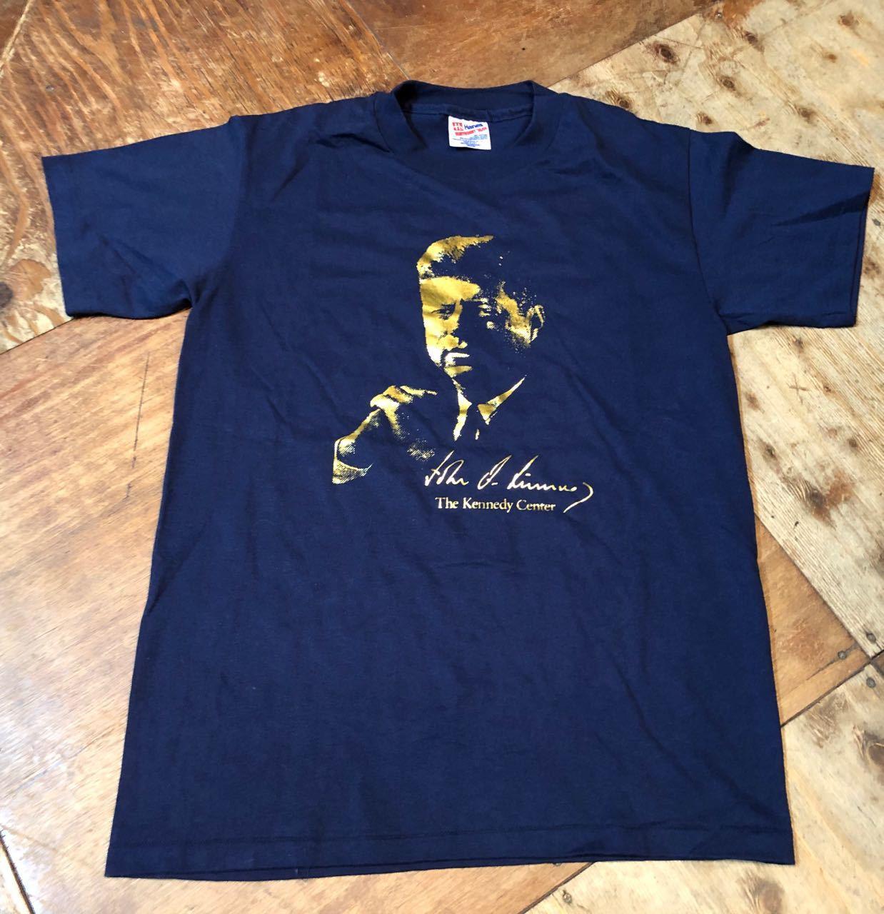 4月13日(土)入荷!90s〜MADE IN U.S.A   J.F. KENNEDY Tシャツ! _c0144020_13345143.jpg