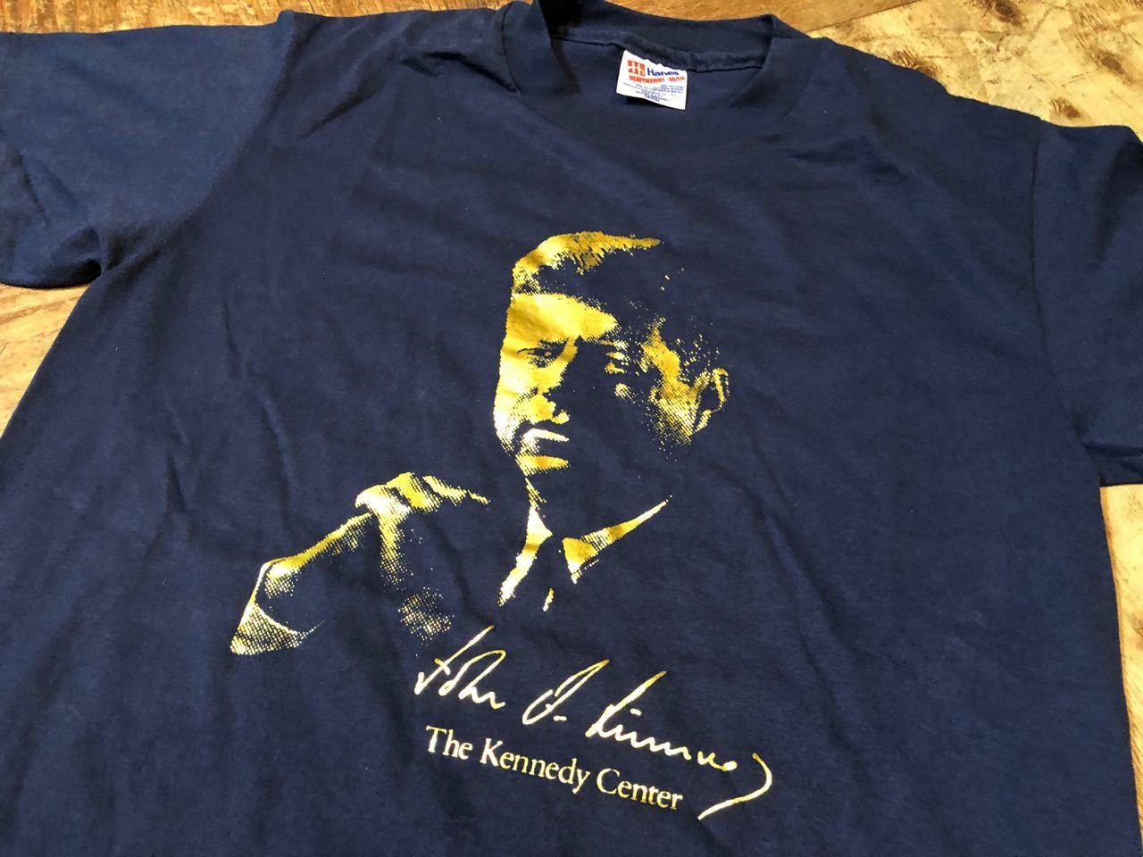 4月13日(土)入荷!90s〜MADE IN U.S.A   J.F. KENNEDY Tシャツ! _c0144020_13345362.jpg