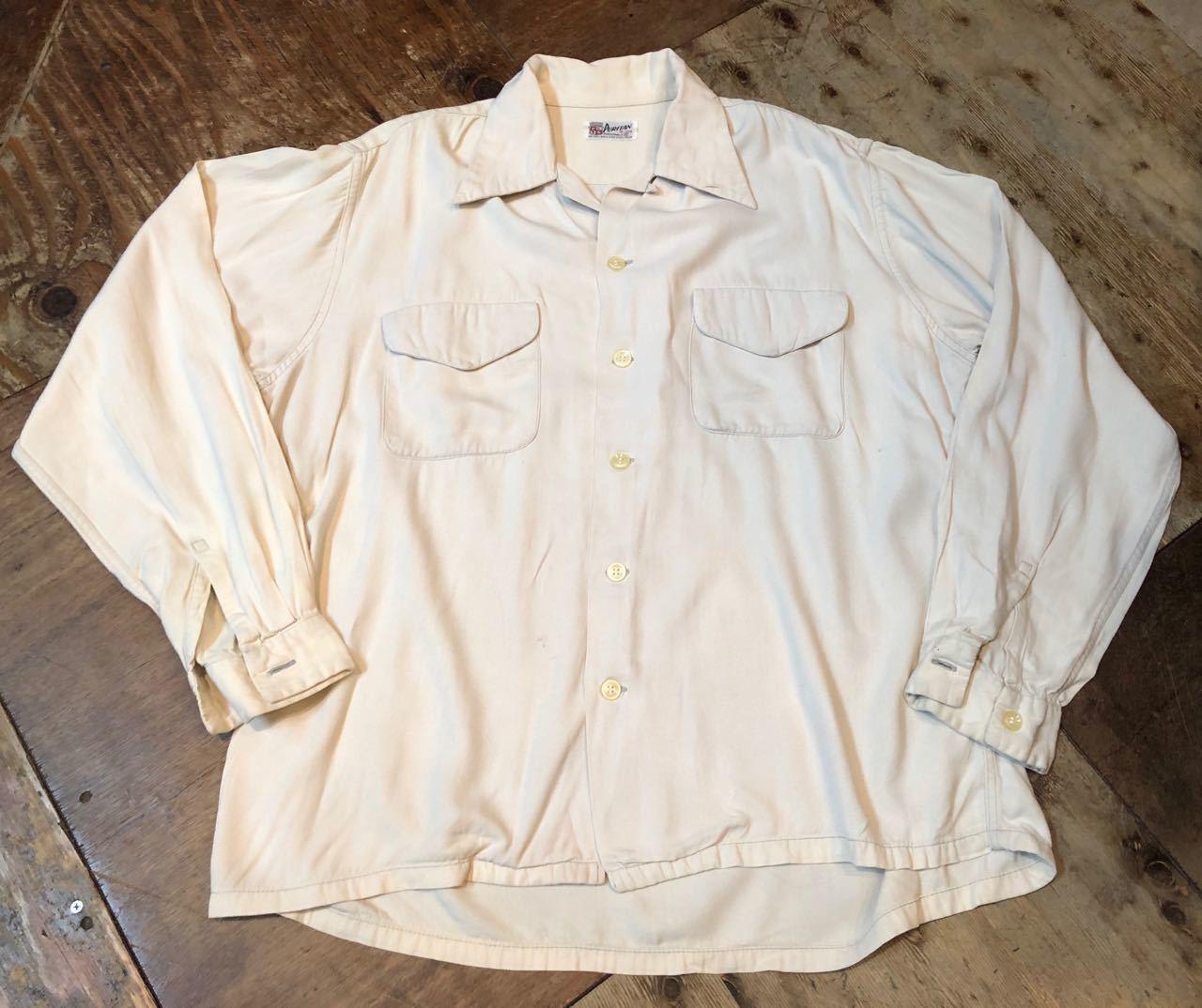 4月13日(土)入荷! 50s PURITAN Gabardine shirts  !_c0144020_13563844.jpg