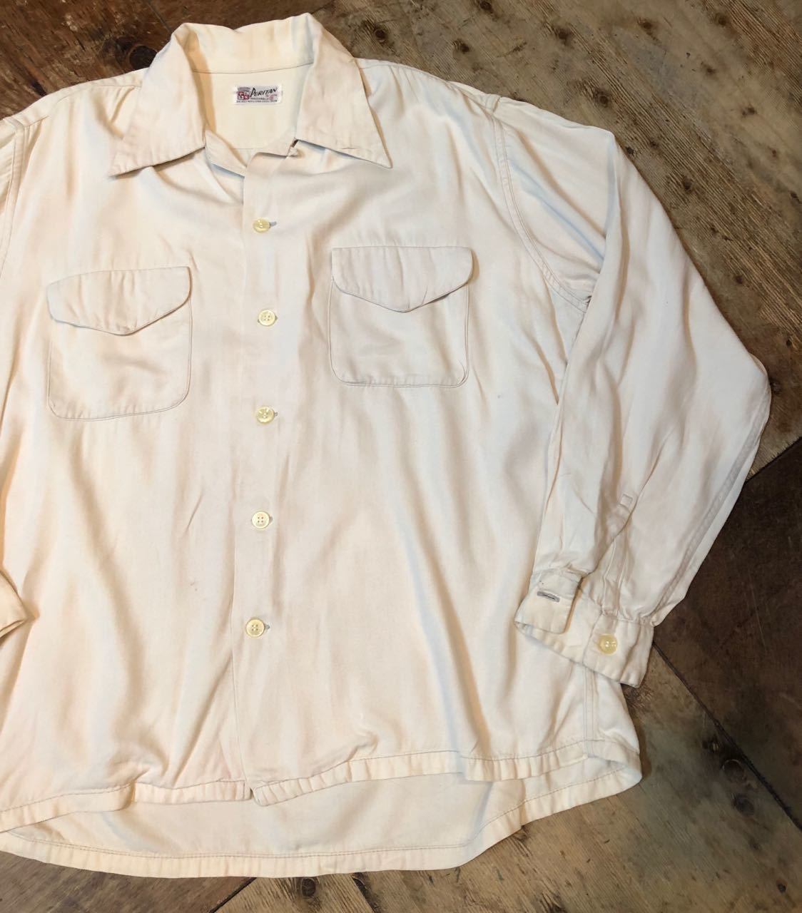 4月13日(土)入荷! 50s PURITAN Gabardine shirts  !_c0144020_13564040.jpg