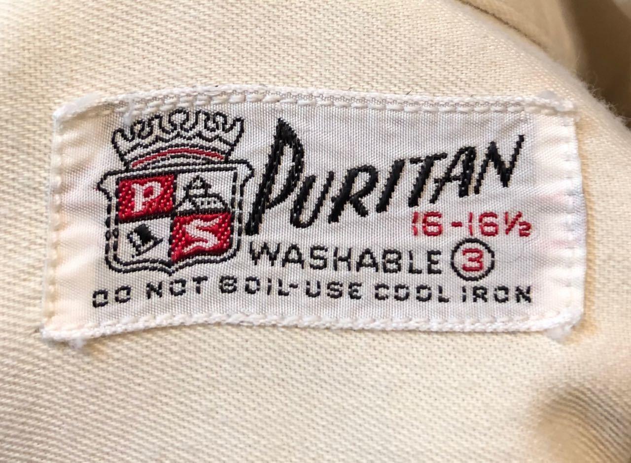 4月13日(土)入荷! 50s PURITAN Gabardine shirts  !_c0144020_13565388.jpg