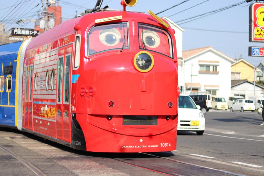 チャギントン/路面観光電車/岡山_c0225122_15572466.jpg