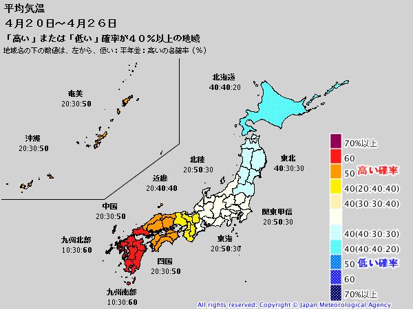 週間予報支援図(2019年4月12日版)+気象庁1ヶ月予報_e0037849_21151253.png