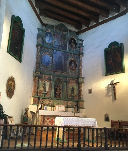 サンタフェへの旅ーアメリカで一番古い教会とお家_e0350971_06505585.jpeg