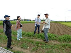 各農家へのホームステイ(農作業実習) _a0208976_16414942.jpg