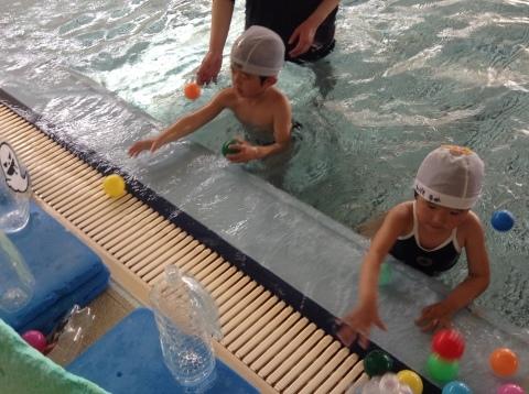 春の短期教室2期  水中祭り❤(ӦvӦ。)_b0286596_12290360.jpg