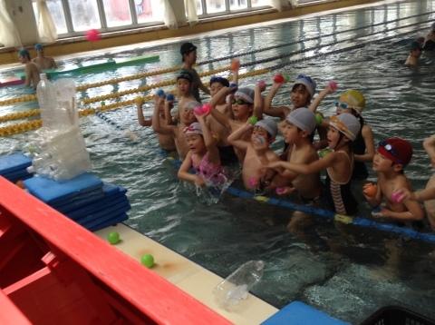 春の短期教室2期  水中祭り❤(ӦvӦ。)_b0286596_12290670.jpg