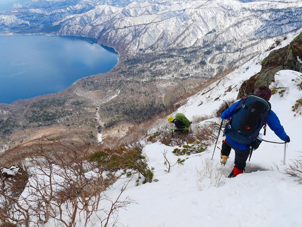 恵庭岳西峰、2019.4.11_f0138096_22411501.jpg