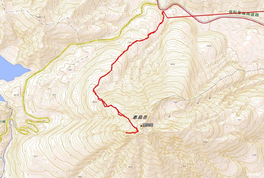 恵庭岳西峰、2019.4.11_f0138096_22425766.jpg