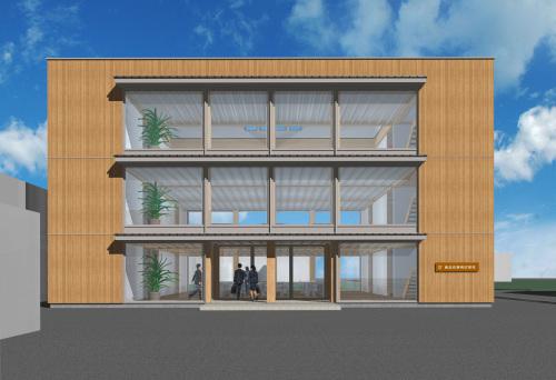 木造3階建の事務所建築_e0054299_09071200.jpg