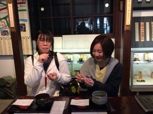 「大下雪香展」お抹茶の呈茶_f0289632_11495032.jpg